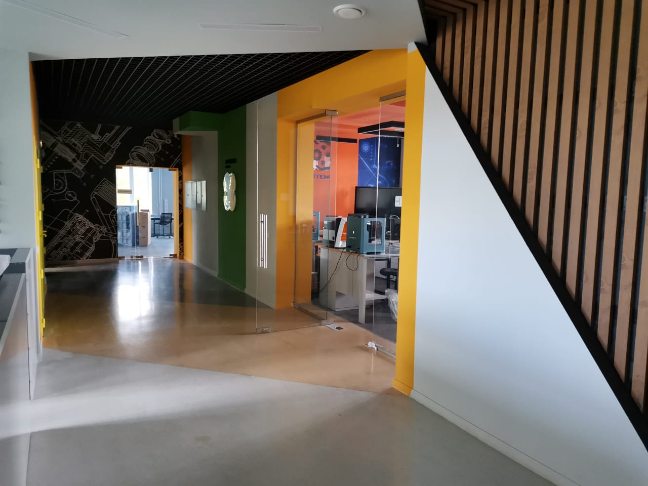 Внутренние (офисные) стеклянные перегородки
